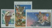 AUS SG1272-4 Christmas 1990 set of 3
